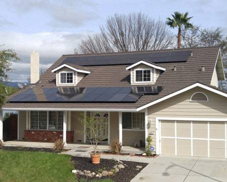 Another residential solar installation by Michael & Sun Solar.