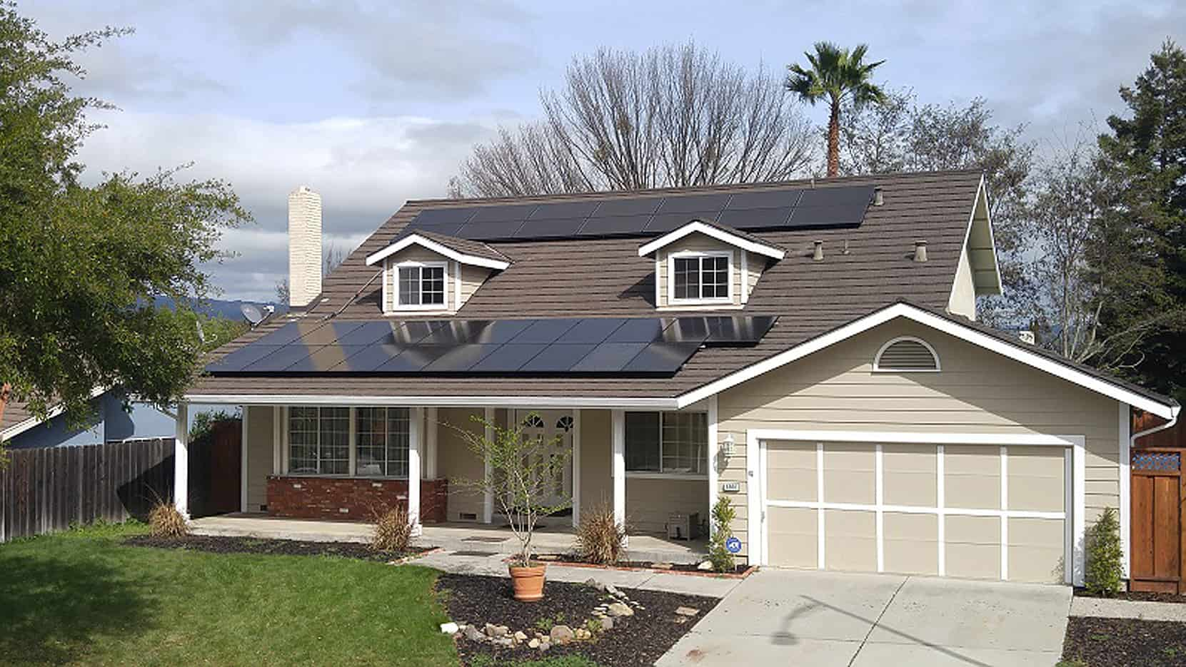 Rooftop solar installation in Gilroy, CA by Michael & Sun Solar.