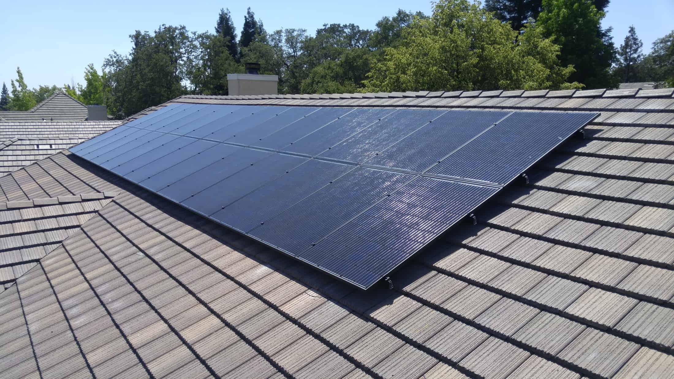 Install On Concrete Tiles Solar Install Solar Panels