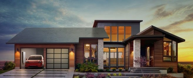 Tesla solar roof tiles are installed by Michael & Sun Solar